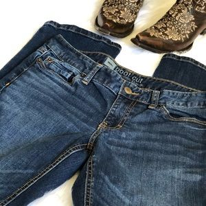 Mossimo boot cut Denim Jeans / Size 10 S